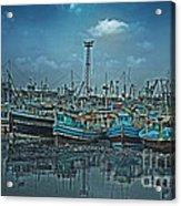 Mystical Harbor Acrylic Print