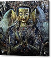 Mystical India Acrylic Print by Joachim G Pinkawa