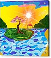 Mystical Island Acrylic Print