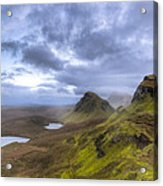 Mystical Landscape On Skye Acrylic Print