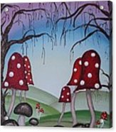 Mysticle Forest Acrylic Print