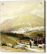 Nablus Old Shechem Acrylic Print
