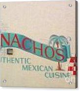 Nachos Acrylic Print