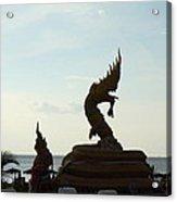 Naga - Phuket Thailand - 01131 Acrylic Print by DC Photographer