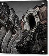 Naga@temple.... Acrylic Print