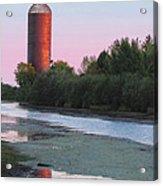 Nahma Burner Sunset Acrylic Print