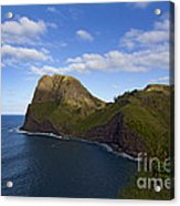 Nakalele Point-signed-#8497 Acrylic Print