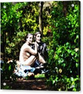 Naked Lunch Acrylic Print