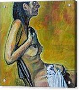 Naked Tellervo 1 Acrylic Print