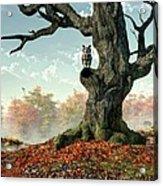 Naked Tree Acrylic Print