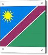 Namibia Flag Acrylic Print