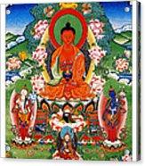 Namo Amitabha Buddha 40 Acrylic Print