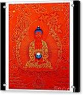 Namo Amitabha Buddha 7 Acrylic Print