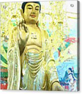 Namo Amitabha Buddha T 37 Acrylic Print