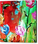 Nancy's Flowers Acrylic Print