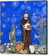 Nancy's St. Francis Acrylic Print
