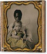 Nanny And Child, C1855 Acrylic Print