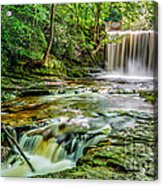 Nant Mill Waterfall Acrylic Print