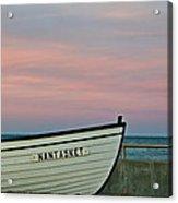 Nantasket Beach Boat Acrylic Print
