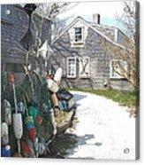 Nantucket Buoys Acrylic Print