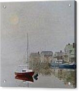 Nantucket Fog Acrylic Print by Karol Wyckoff