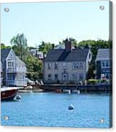 Nantucket Harbor Acrylic Print by Lorena Mahoney