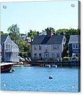 Nantucket Harbor Acrylic Print