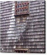 Nantucket Olde Gaol Windows Acrylic Print