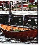Nantucket Sleigh Ride Whaleboat Acrylic Print