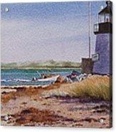 Nantucket Winter Light Acrylic Print