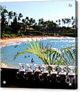 Napili Bay Maui Hawaii Acrylic Print