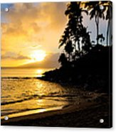 Napili Sunset Evening  Acrylic Print