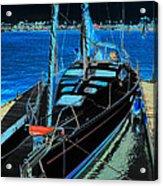 Naples Yacht Acrylic Print