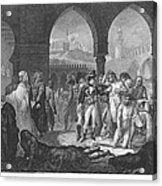 Napoleon At Jaffa, 1799 Acrylic Print
