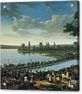 Napoleon Before The Battle Of Wagram, 6th July 1809 Acrylic Print