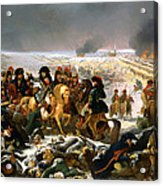 Napoleon On The Battlefield Of Eylau Acrylic Print