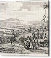 Napoleon's Army Crosses The  Neman Acrylic Print