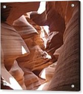 Narrow Canyon I Acrylic Print