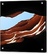 Narrow Canyon Vi Acrylic Print