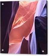 Narrow Canyon Xvi - Antelope Canyon Acrylic Print