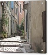 Narrow Lane - Arles Acrylic Print