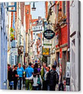 Narrow Street Art Acrylic Print