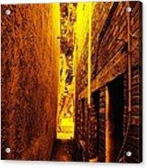 Narrow Way To The Light Acrylic Print