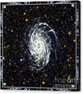 Nasa Big Brother To The Milky Way Acrylic Print