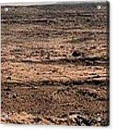 Nasa Mars Panorama From The Mars Rover Acrylic Print