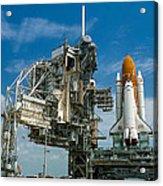 Nasa Space Shuttle Acrylic Print