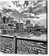Nashville From The Shelby Bridge Acrylic Print