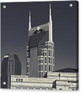 Nashville Tennessee Batman Building Acrylic Print