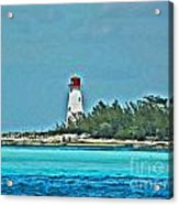 Nassau Bahama Lighthouse Acrylic Print