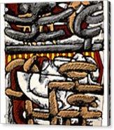 Nassau Junkanoo 2 Acrylic Print by Philip Slagter